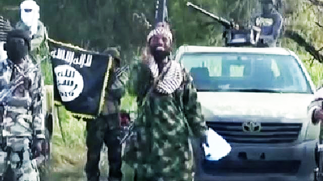 Screenshot eines Boko-Haram-Propagandavideos