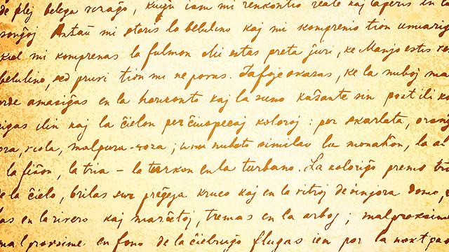 Brief in Handschrift