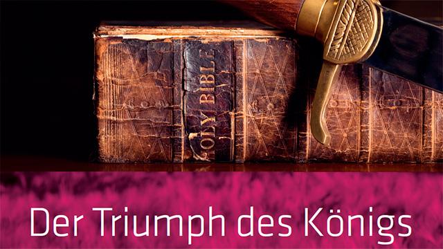 Ausschnitt Buchcover «Triumph des Königs»