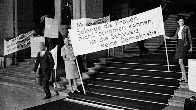 Buch «Gebt den Schweizerinnen ihre Geschichte»