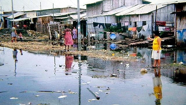 Überschwemmung in Guayaquil, Ecuador