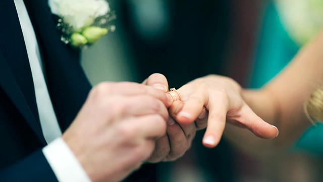 An der Hochzeit