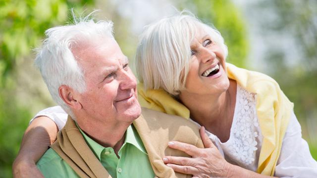 Dankbare Senioren