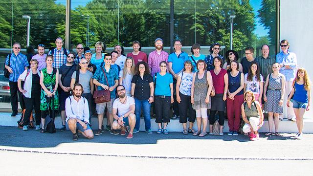 Das Team von ERF Medien 2016