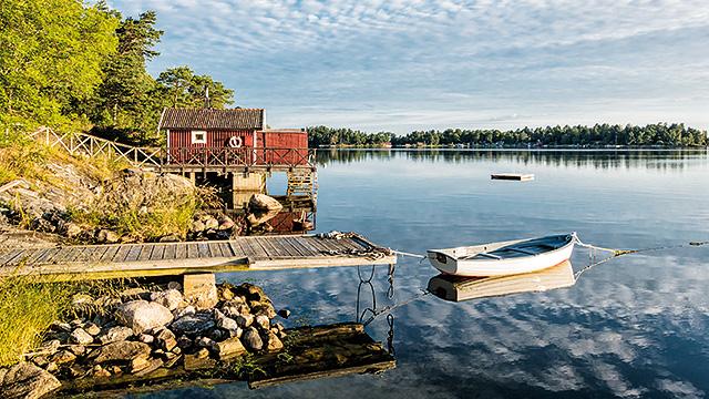 An den Gestaden der Schären in Schweden