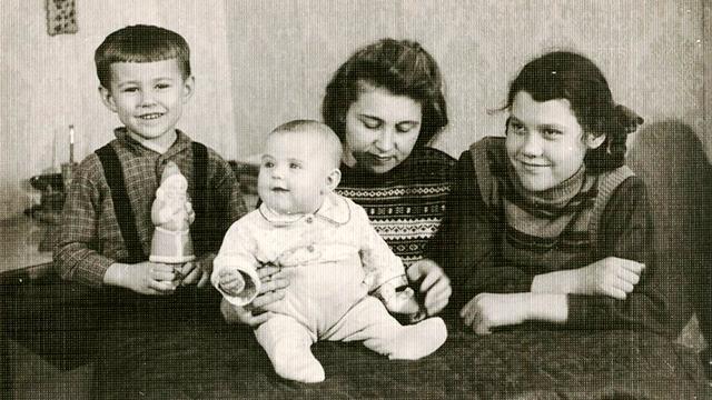 Altes Familienfoto