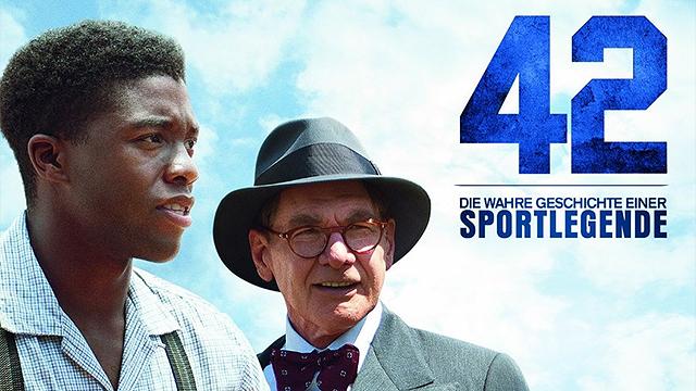 DVD «42 – Die wahre Geschichte einer Sportlegende»