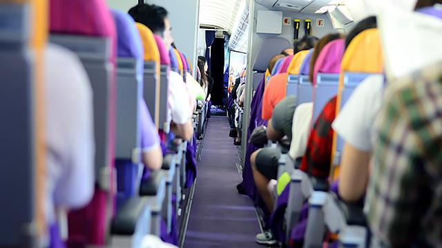 Flugpassagiere