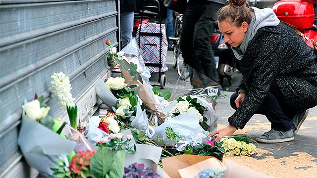 Trauerbekundung Paris