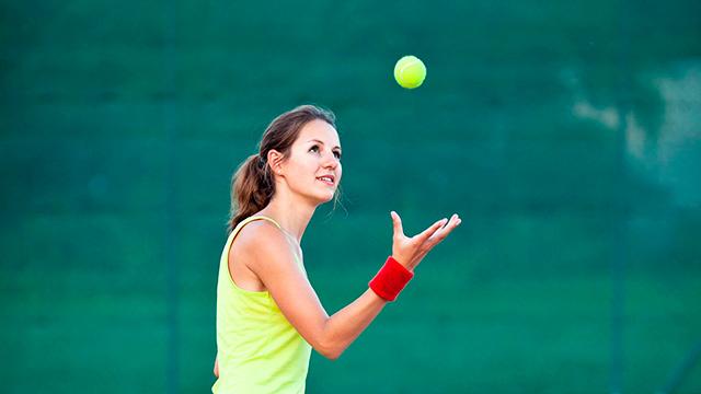 Sport, Tennis, Verletzung