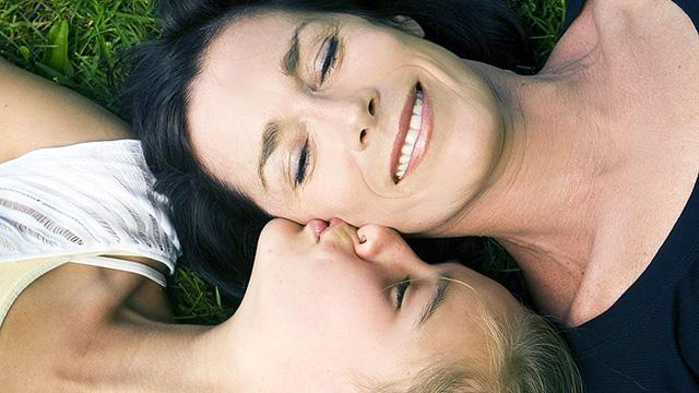 Dankbarkeit Mutter/Tochter