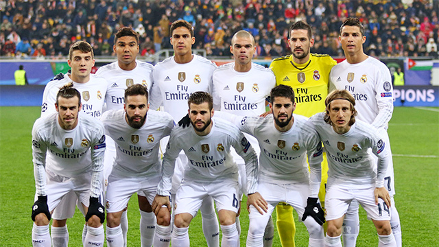 Real Madrid 2015