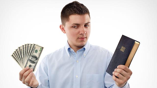 Geld oder Religion