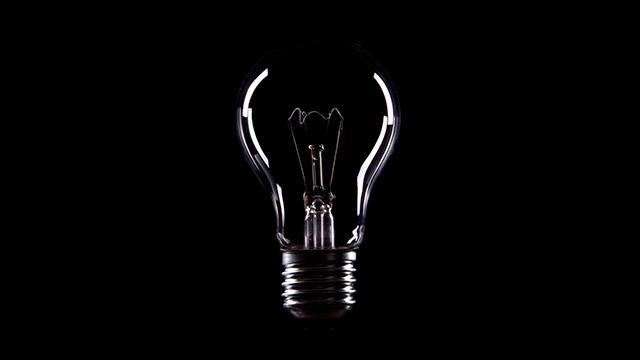 Glühbirne aus