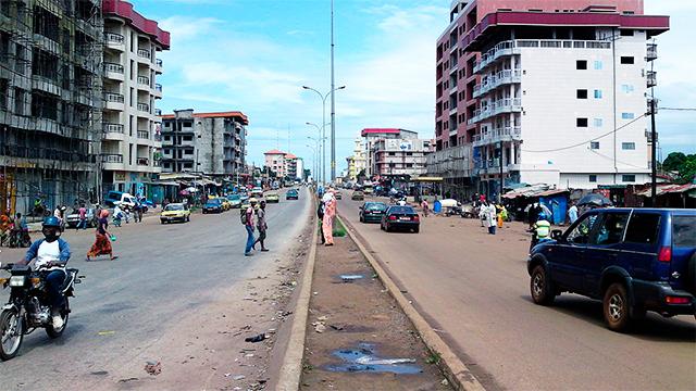 Conakry, Hauptstadt von Guinea