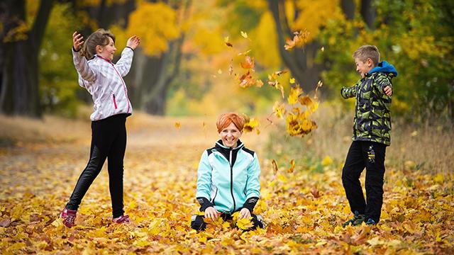 Was Kinder vom Herbst halten