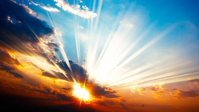 Lichtblick am Himmel
