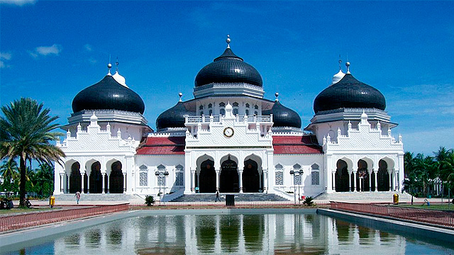 Grosse Moschee in Banda Aceh