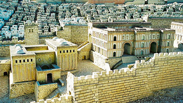 Modell von Jerusalem 7 (c) Indian Summer/Fotolia