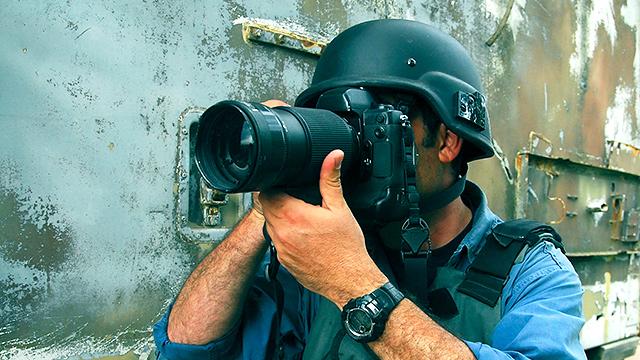 Reporter in Kriegsgebiet