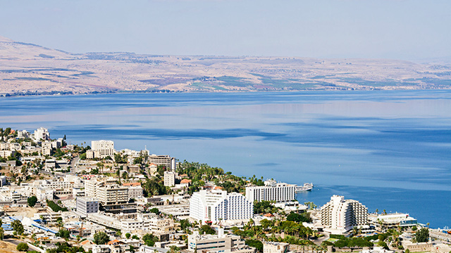 Tiberias am See Genezareth