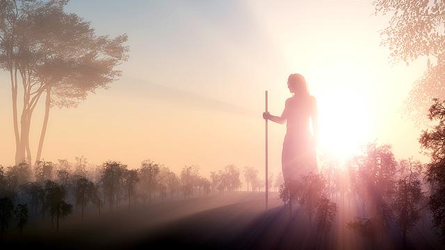 Jesus in Silhouette