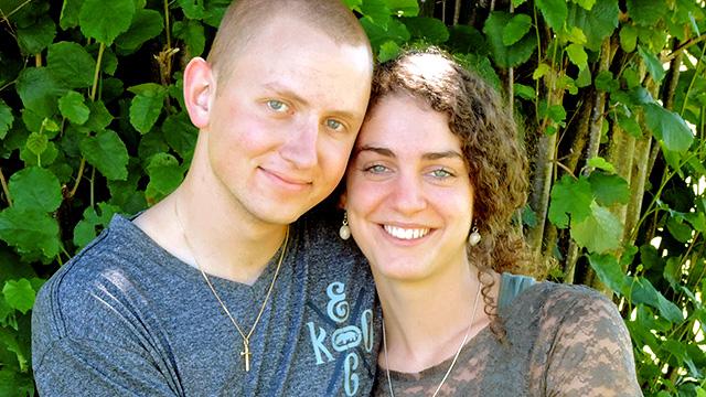 Nathanel und Andrea Josi