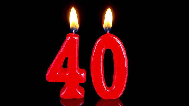40-jähriges Jubiläum