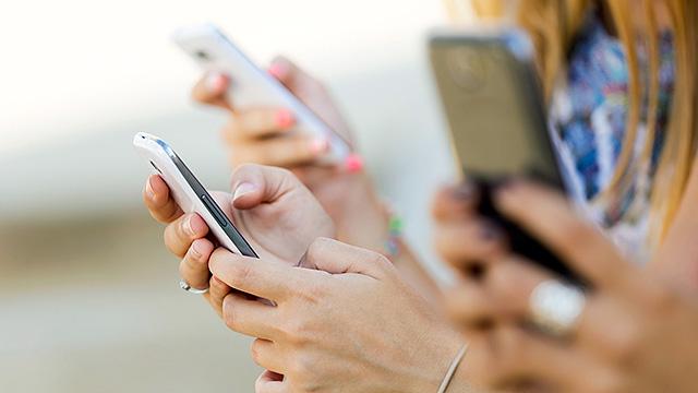 Kommunikation per Smartphone