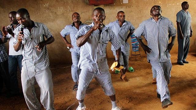 Häftlinge des Manyani-Gefängnisses
