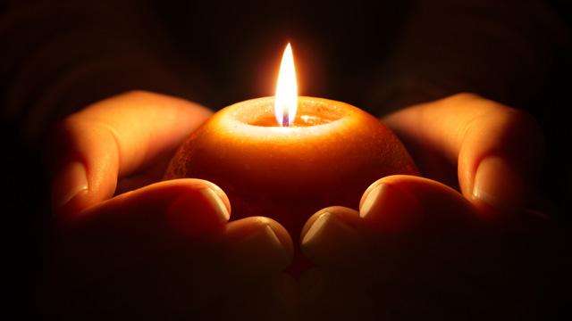 Abschied Trauer Kerze