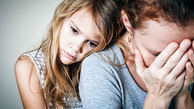 Depressive Mutter