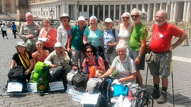 Teilnehmerinnen in Rom