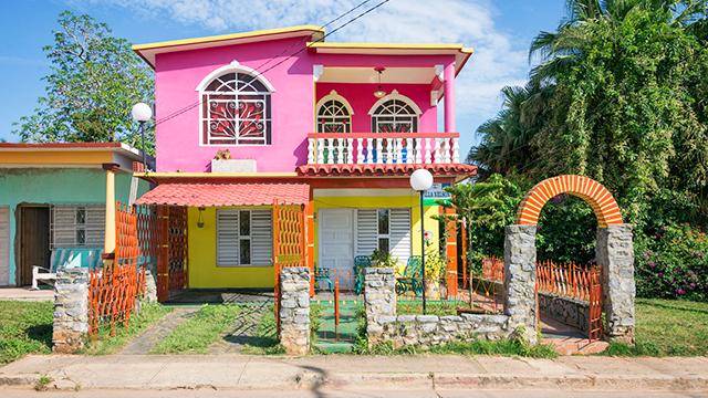 Haus in Kuba