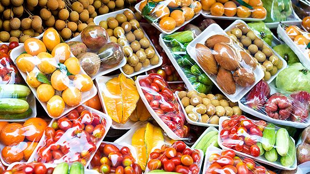 Verpackte Lebensmittel
