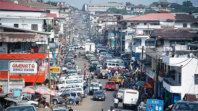Monrovia in Liberia