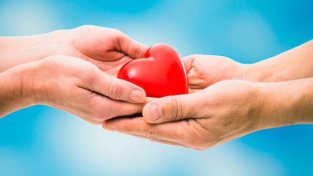 Von Herzen spenden