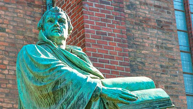 Statue von Martin Luther