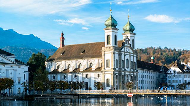 Jesuiten-Kirche in Luzern