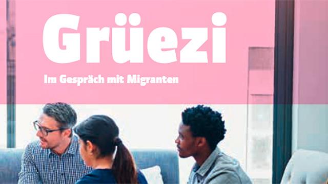 Ausschnitt aus der Titelseite von «Grüezi»