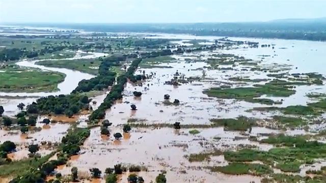 Überschwemmung in Malawi