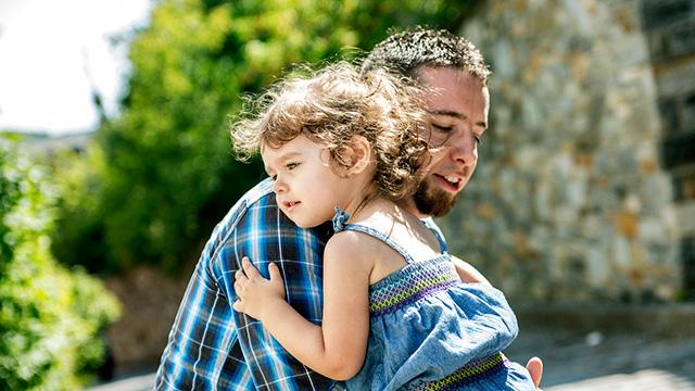 Vertrauen zwischen Vater und Tochter