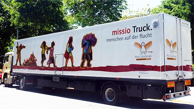 Flucht-Truck