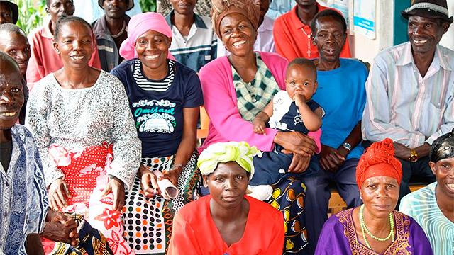 Selbsthilfegruppe Lusubilo in Tansania