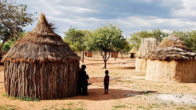 Dorf in Namibia
