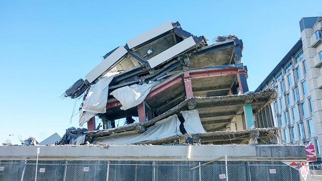 Ruinen des Erdbebens von 2011