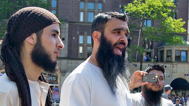 Islamische Fundamentalisten in Amsterdam