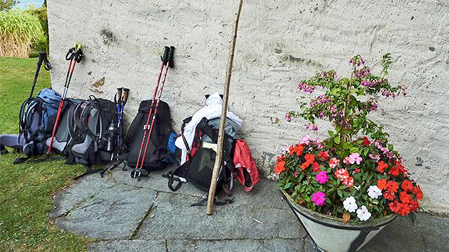 Pilgerequipment