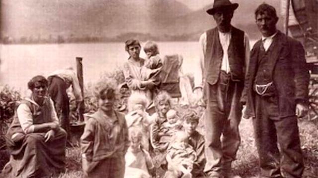 Jenische am Lauerzersee 1928