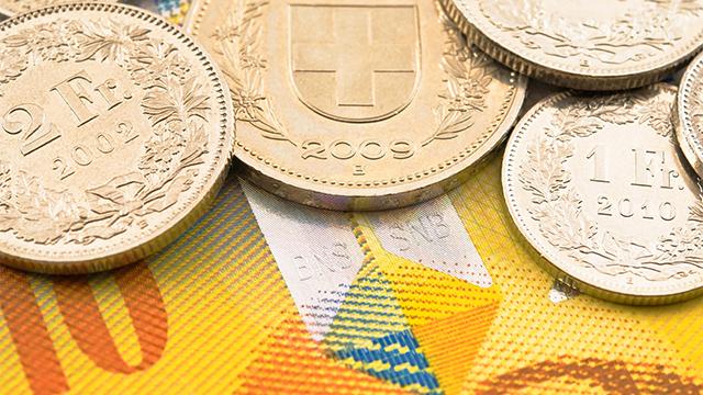 (c) Schweizer Münzen - Fotolia